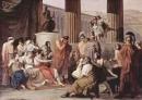 Tê-lê-mác kể lại cảnh người cha của mình là Uy-lít-xơ trở về