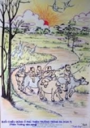 Cảm nhận khi đọc bài thơ: Thiên trường vãn vọng của Trần Nhân Tông.