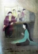 Phân tích tâm trạng Kiều khi ở lầu Ngưng Bích qua 4 bức tranh; Buồn trông.