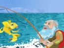Đóng vai cá vàng trong truyện ông lão đánh cá