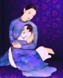 Đóng vai thầy Mạnh Tử lúc còn bé
