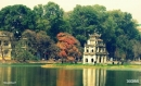 Tả cảnh Hồ Gươm