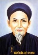 Bình luận Bài ca ngất ngưởng của Nguyễn Công Trứ.