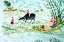 Con trâu ở làng quê Việt Nam ( Bài 6 )