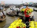 Giới thiệu về chợ nổi miền Tây Nam Bộ ( Bài 2 )