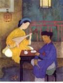 Phân tích nhân vật Kim Trọng qua đoạn thơ Kiều gặp Kim Trọng trích trong Truyện Kiều .