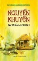 Nhà thơ Xuân Diệu viết: Nguyễn Khuyến là nhà thơ
