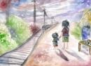 """Hình ảnh """"con tàu"""" trong Hai đứa trẻ của Thạch Lam"""