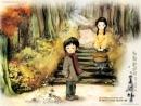 Nghệ thuật miêu tả tương phản trong Hai đứa trẻ