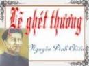 Phân tích đoạn trích Lẽ Ghét Thương của Nguyễn Đình Chiểu