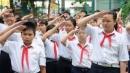 Em hãy tả quang cảnh buổi lễ chào cờ đầu tuần của trường em