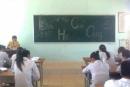 Trong vai thầy giáo Ha-men, tả lại tâm trạng lên lớp của mình trong Buổi học cuối cùng