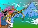 Hãy hóa thân vào An Dương Vương để kể lại câu chuyện sai lầm dưới thủy cung