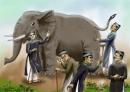 Kể lại chuyện thầy bói xem voi bằng lời văn của mình