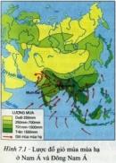 Thiên nhiên nhiệt đới ẩm gió mùa biểu hiện qua các thành phần đất, sinh vật và cảnh quan thiên nhiên như thế nào ?