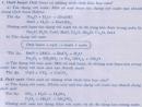 Lý thuyết Tính chất hóa học của oxit. Khái quát về sự phân loại oxit.