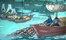 Phân tích hai khổ thơ cuối bài Đoàn thuyền đánh cá của Huy Cận.ngữ văn lớp 9