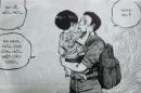Tóm tắt truyện Chiếc lược ngà của nhà văn Nguyễn Quang Sáng. ngữ văn lớp 9