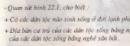 Câu 1 (mục 1 - bài học 22 - trang 71) sgk địa lí 7