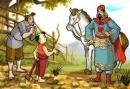 Phân tích truyện cổ dân gian Em bé thông minh