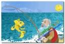 Kể sáng tạo truyện cổ tích Ông lão đánh cá và con cá vàng theo lời kể của ông lão đánh cá