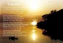 Phân tích bài thơ Tràng giang để làm nổi rõ lòng yêu tạo vật thiên nhiên trong tâm trạng cô đơn thẳm sâu và trong sáng của Huy Cận.