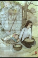 Hình ảnh bà Tú qua bài thơ Thương vợ của Tú Xương