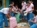 Lập chương trình quyên góp ủng hộ thiếu nhi và nhân dân các vùng bị thiên tai.