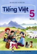 Tả quyển sách Tiếng Việt 5, tập hai của em.