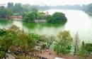 Em hãy tả cảnh Hồ Gươm