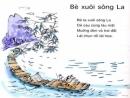 Chuyển nội dung bài thơ Bè xuôi sông La thành một câu chuyện