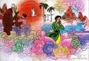 """Cảm nhận của em về bài thơ """"Truyện cổ nước mình"""" của Lâm Thị Mỹ Dạ"""