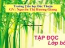 """Cảm nhận của em khi đọc bài """"Tre Việt Nam"""" của Nguyễn Duy"""