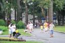 Em có dịp quan sát một buổi tập của lớp học võ buổi sáng ở công viên gần nhà. Hăy kể lại những gì em thấy ở buổi tập đó