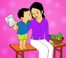 Tả về hình ảnh người mẹ hiền yêu thương của em