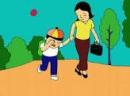 """Hình ảnh chú bé - nhân vật """"tôi"""" trong buổi tựu trường (Truyện ngắn """"Tôi đi học""""-Thanh Tịnh)"""