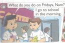 Lesson 2 Unit 3 trang 20 SGK Tiếng Anh lớp 4 Mới tập 1