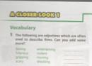 A Closer Look 1 trang 18 Unit 8 Tiếng Anh 7 mới tập 2