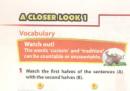 A Closer Look 1 trang 40 Unit 4 Tiếng Anh 8 mới