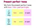 Thì hiện tại hoàn thành (The present perfect tense) Unit 9 SGK tiếng anh 6 mới