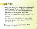 Project - Unit 8 trang 35 SGK Tiếng Anh 10 mới