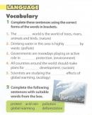 Language - trang 58 Review 4 SGK Tiếng Anh 10 mới