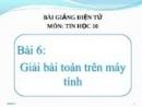 Câu 3 trang 51 SGK Tin học 10