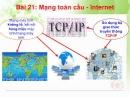 Lý thuyết: Mạng máy tính toàn cầu Internet trang 141 SGK Tin học 10