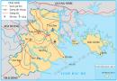 Quan sát hình 1, em hãy: Chỉ vị trí Hải Phòng trên lược đồ và cho biết Hải Phòng giáp các tỉnh nào