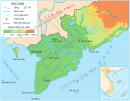 Quan sát hình 2: Nêu nhận xét về mạng lưới sông ngòi, kênh rạch của đồng bằng Nam Bộ (nhiều hay ít sông ?).