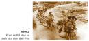 Quan sát hình ảnh đoàn xe thồ phục vụ chiến dịch Điện Biên Phủ, em có nhận xét gì ?