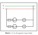 Thực hành bài 8 trang 37 SGK Công Nghệ 9 - Lắp đặt mạng điện trong nhà