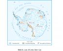 Quan sát hình 4 hoặc quả Địa cầu, cho biết vị trí địa lí của châu Nam Cực.