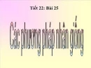 Câu 1 trang 76 SGK Công nghệ 10